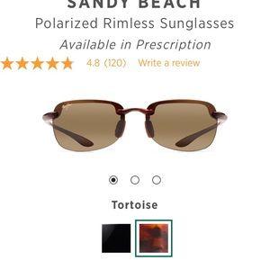 Never worn! Maui Jim Sandy Beach Sunglasses